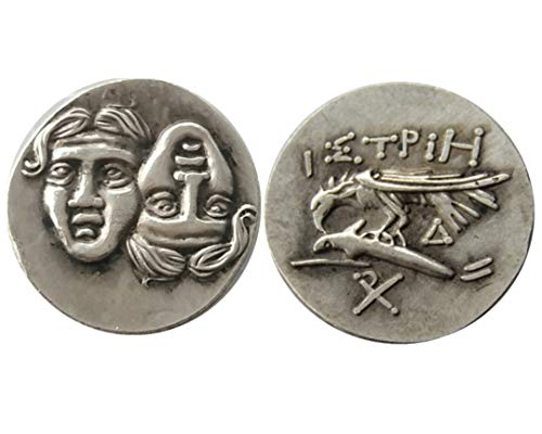 Seltene, antike, antike Athen, griechische Silbermünze, Drachm, Atena, Griechenland, Adler, Drachma, Silbermünze
