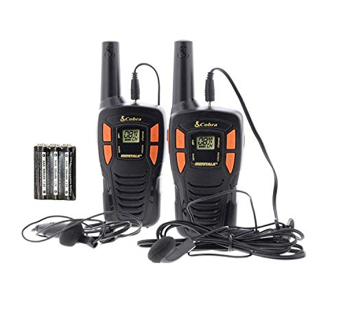 Cobra AM246 Walkie Talkie - Micrófono con Auriculares GA-