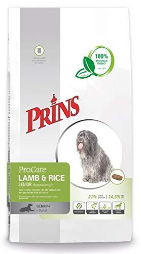 15 KG Prins procare lam/rijst senior hypoallergeen hondenvoer