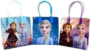 Four-seasonstore Frozen 2 - Elsa, Anna & Olaf Premium Quality Party Favor Goodie Small Gift Bags Color 12pcs …