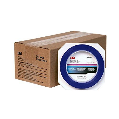 """3M 1/2"""" Scotch Blue Fine Line Plastic Striping Tape-Car"""