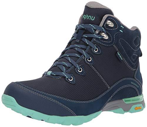 Ahnu Women's W Sugarpine II Waterproof Ripstop Hiking Boot, Insignia Blue, 8 Medium US