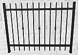 A.M. Ferrotecnica Giardino Recinzione modulare Plus in Ferro zincata Tonda