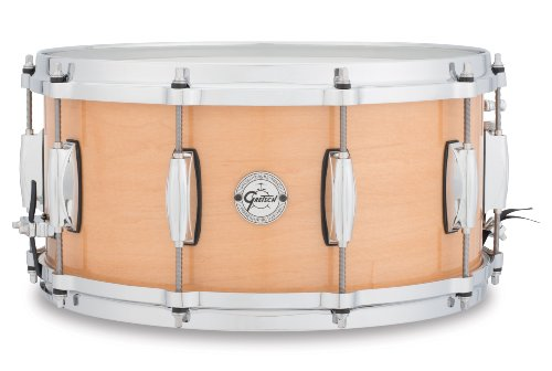 "Silver Series Maple Snare 14""x6.5"", S1-6514-MPL"