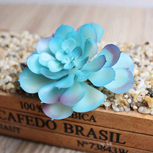 1pcs kunstplanten Craft Simulation Green stekelige plant Arrangement Garden Valse Bloem Voor Decoratie Household Dropshipping: Deep Sapphire, Spanje