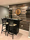 Peel & Stick Rustic Reclaimed Barn Wood Paneling, Real Wood, Rustic Wall Planks - Easy Installation (10 Square FEET)