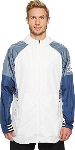 adidas Sport ID Woven Shell Jacket White LG
