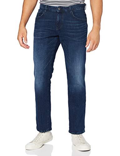 TOM TAILOR Herren Josh Regular Slim Jeans, 10281-mid Stone wash Denim, 29W / 32L