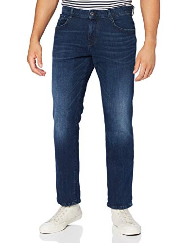 TOM TAILOR Herren Josh Regular Slim Jeans, 10281-mid Stone wash Denim, 32W / 36L