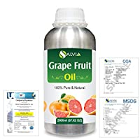 Grapefruit (Citrus paradisi) 100% Natural Pure Essential Oil 2000ml/67 fl.oz.