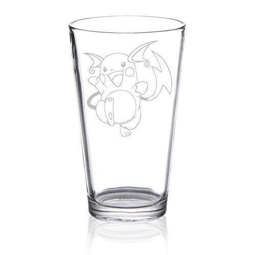 Raichu - Etched Pint Glass