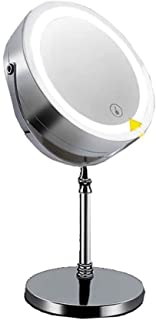 YASE-king Bathroom Vanity Mirrors LED Lighted Makeup Mirror,Vanity Mirror With Touch Switch,5X Magnification Spot Mirror, ...