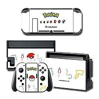 Nintendo Switch 任天堂スキンシール スイッチ スタイリッシュ ドレスアップ スリム 薄型シール 全面保護 傷 汚れ 防止 簡単に貼り付け可能 (2597)