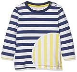 ESPRIT KIDS Baby-Jungen RP1005207 T-Shirt Long Sleeves Langarmshirt, Weiß (White 010), (Herstellergröße: 80)