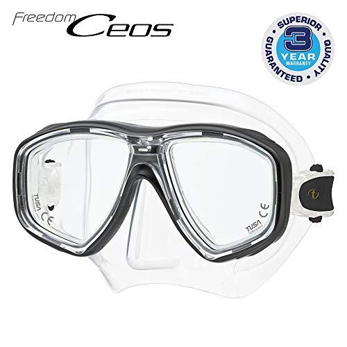 Duikbril Tusa Freedom Ceos - duikmasker correctie optische glazen compatibel