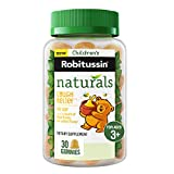 Children's Robitussin Naturals Honey & Ivy Leaf Cough Relief Gummies, Dietary Supplement, 30ct, Ages 3+