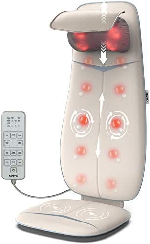 RENPHO Shiatsu Neck and Back Massager with Heat Height Adjustable Shoulders Rolling Massage product image