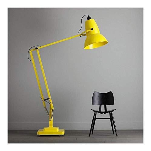 Moderno Lámpara de pie Lámpara de pie, creativo gigante lámpara de pie, tres cojinetes giran libremente, tecnología original de la Sala de Estudio de la lámpara, débil luz azul a proteger sus ojos de