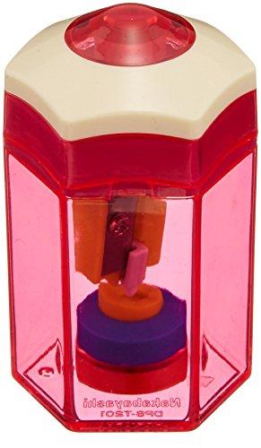 ナカバヤシ 鉛筆削り ハンディシャープナー 楽らっち6 ピンク DPS-T201P