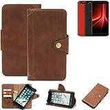 K-S-Trade® For UMIDIGI Z1 Pro Wallet Case Mobile Phone