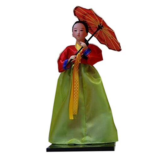 Blancho Costume Traditionnel Antique ameublement Articles coréenne Oriental Doll Doll, H