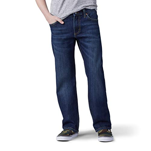 Lee Big Boy Proof Fit Straight Leg Jean, Stuntman, 14 Husky