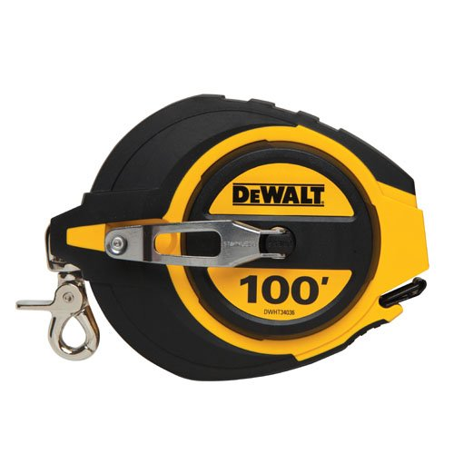 DEWALT DWHT34036L 100-Foot Closed Case Long Tape
