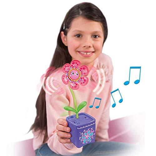 Silverlit 88430 - Magic Bloom Blume Bella Interaktive mit magischer Gießkanne die singt und tanzt, farblich sortiert