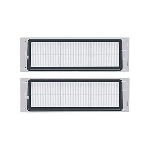 Ersatzteile für Roborock S50 S55 S6 S5Max Saugroboter Ersatzteile Sparpack Austauschteile Reparatur Zubehör ZINNZ Selected (Waschbare HEPA Filter 2 Stück)