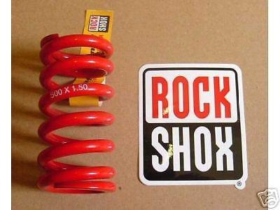 Rock Shox Dämpfer Feder 500Lbs x1,5 Dämpferfeder NEU