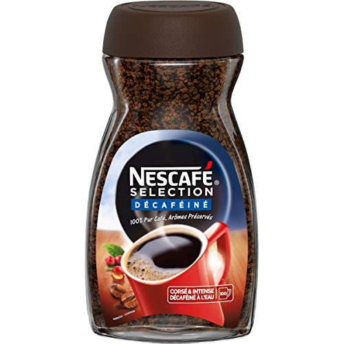 Nescafé Selección Descafeinado, Café Soluble, Botella De 200G