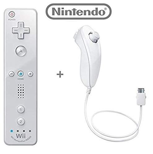 Wii Remote Plus + Wii Nunchuk Controller Set für Nintendo Wii (WII) Z3 lose