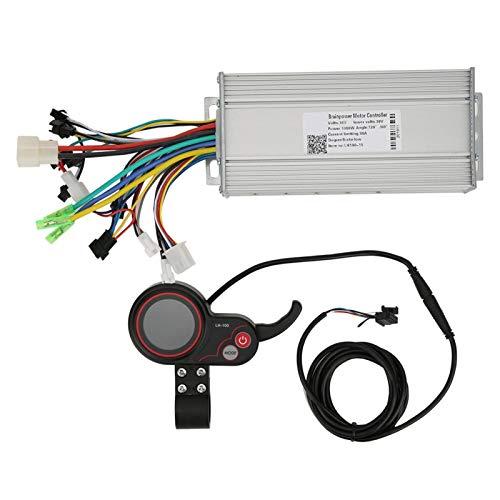 DAUERHAFT Límite de Velocidad Conveniente 36V 1000W LH100 Interruptor de Cambio y Controlador LCD, para Bicicleta de montaña