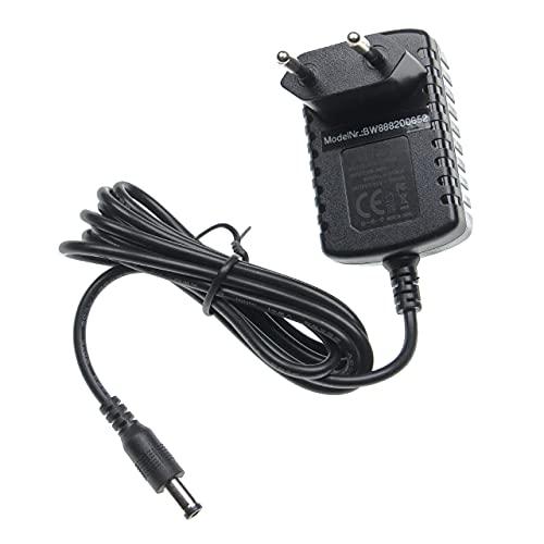 vhbw Fuente de alimentación compatible con Philips Norelco Satinelle HP6491, HP6496, HP6501, HP6513, HP6540, HP6609 depiladora eléctrica