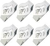 INTVN8 Abrazaderas de Acero Inoxidable para Mantel Soporte para Mantel Clips de Acero Inoxidable Mantel Pinza para Mantel Cubierta