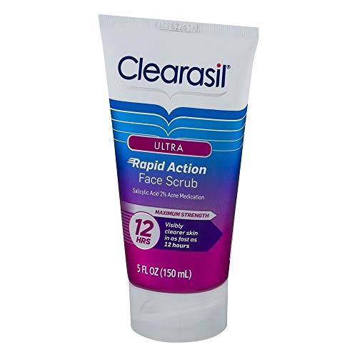 Clearasil Rapid Rescue Deep Treatment Face Scrub, 5 Oz. (Pack of 12)