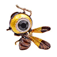 ブローチ ブローチピン ブローチ,蜂のブローチ昆虫のブローチ女性ピンファッションコートアクセサリー