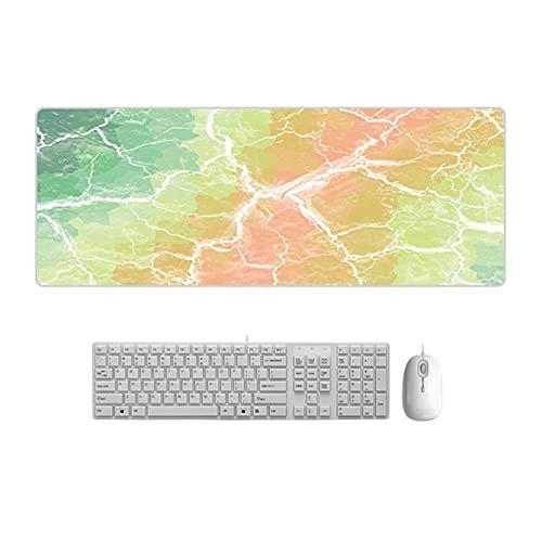 Alfombrilla de Escritorio Magos de mármol de estilo nórdico Mousepad grande Mousepad computadora escritorio de escritorio de bloqueo Mesa de bloqueo Estera de mesa para niñas adolescentes para dormito