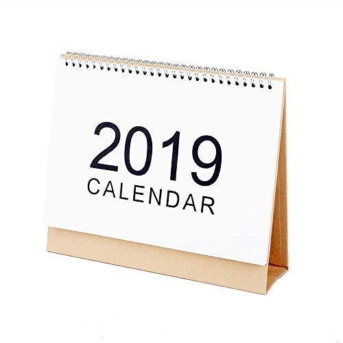 LIIYANN Calendario de Escritorio 2019: Las páginas mensuales Grandes se Ejecutan Desde...
