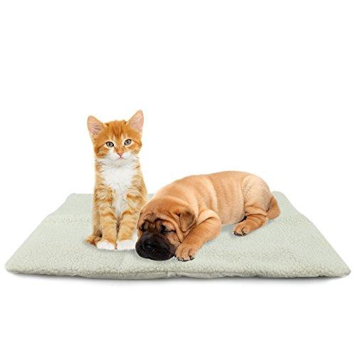 MAX-CARE ASAB Cama para Mascotas autocalefactable, tamaño Mediano