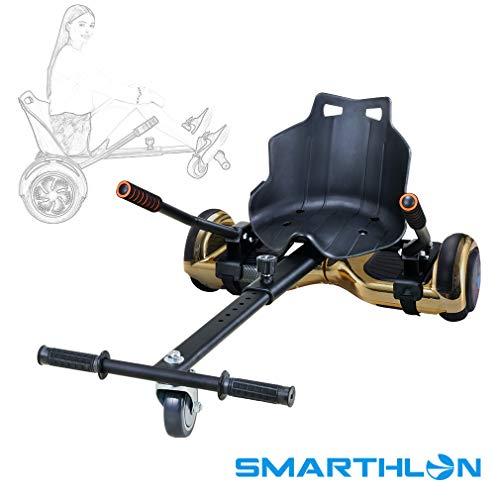 Smarthlon Hoverkart Go Kart Hover Sitz Roller kompatibel mit 6,5, 8, 10 Zoll (A4)