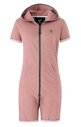 OnePiece Damen Fitted Short Jumpsuit, Rot (Muddy), 40 (Herstellergröße: L) - 4