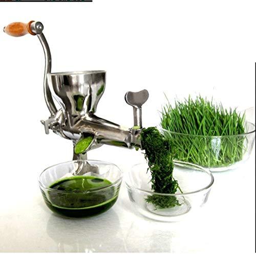 SBSNH Die ursprüngliche gesunde Saftpresse - manuelle Saftpresse - Sellerie, Weizengras, Grünkohl, Spinat, Petersilie und jedes andere Blattgrün!