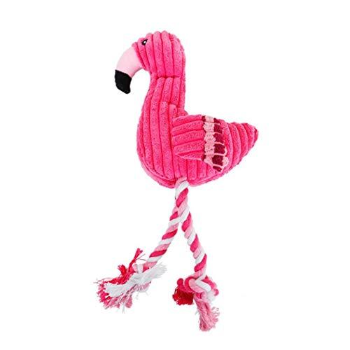 Flamingo Kuscheltier Furry Weiches Plüsch-spielzeug Hundespielzeug Red Stuffed Schreien Weiche Flamingo Für Kleine Große Hunde Ton Puppy Toy Plüsch Squeak Flamingos Tiere Spielzeug Rot 1 St. Pet