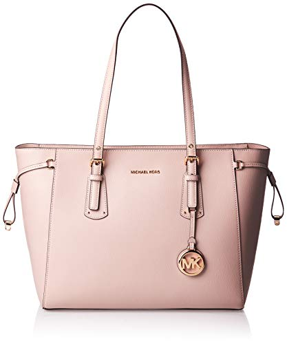 MICHAEL Michael Kors Voyager Medium Top Zip Tote Soft Pink One Size
