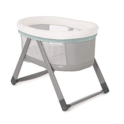 Ingenuity Berço de balanço dobrável portátil de madeira de balanço dobrável - Wallace