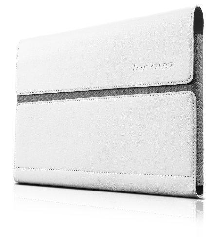Lenovo Custodia e Pellicola Protettiva per Yoga Tablet 10 Pollici B8000, Bianco