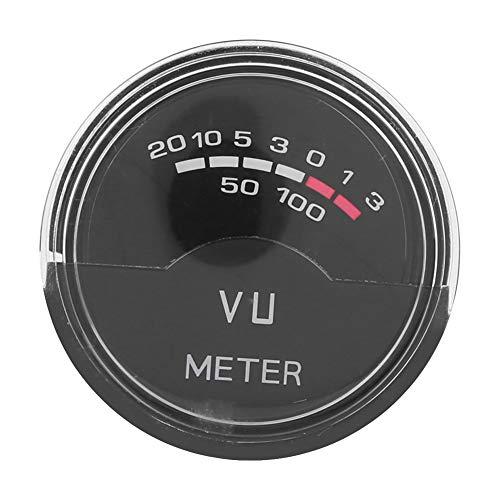 Pannello Misuratore VU Indicatore Livello Sonoro DB, Mini Misuratore VU ad Alta Precisione, Amplificatore DB, Misuratore Audio di Livello con Retroilluminazione Blu ‑10 ℃ ‑60 ℃, 2 x LED Blu