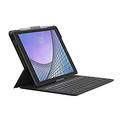ZAGG - Messenger Folio 2 - Tablet Keyboard & Case for 10.2-inch iPad, 10.5-inch iPad/Air 3