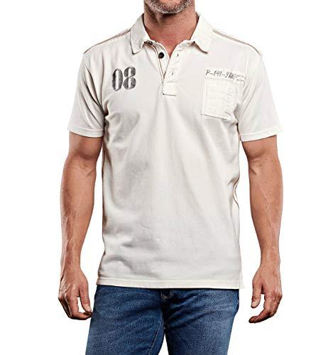 engbers Herren Poloshirt, 27351, Weiß in Größe L